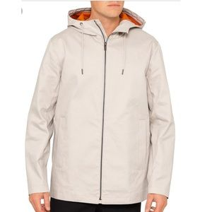 Theory Haim Short Cotton Canvas Parka Jacket